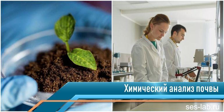 химический анализ почвы