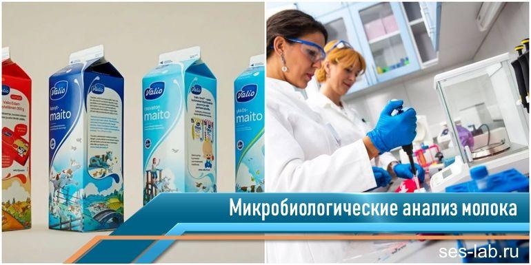 микробиологический анализ молочных продуктов